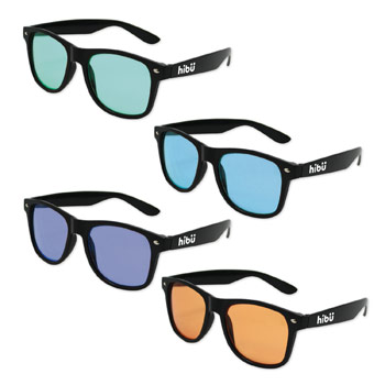 S53046X - Iconic Glasses  with Colored Lenses