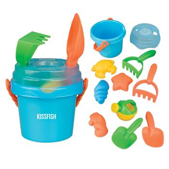 S71311X - Mini Sand Pail with Toys and Lid