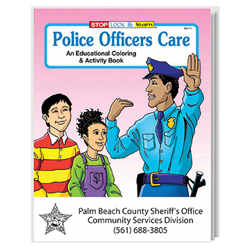 WCB1 - Police Officers Care Coloring Book