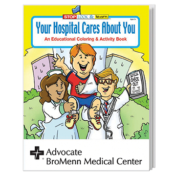 WCB5 - Your Hospital Cares Coloring Book