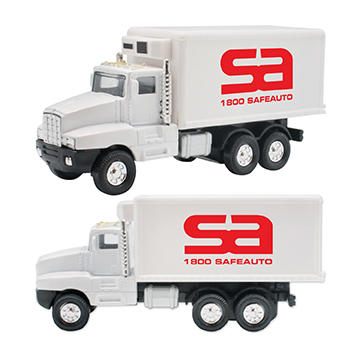 WL831X - Refrigerated Box Truck Pull Back