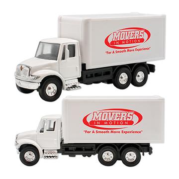 WL834X - International Box Truck Pull Back