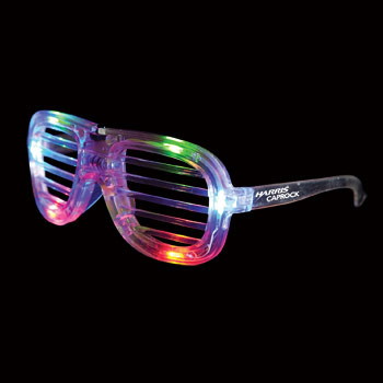 WP900X - Led Slotted Glasses