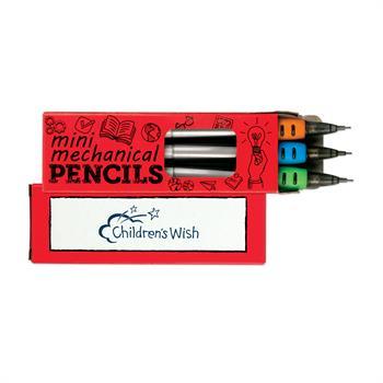 S24050X - 3 Pack Mini Mechanical Pencils