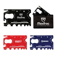 18-in-1 Credit Card Sized Tool